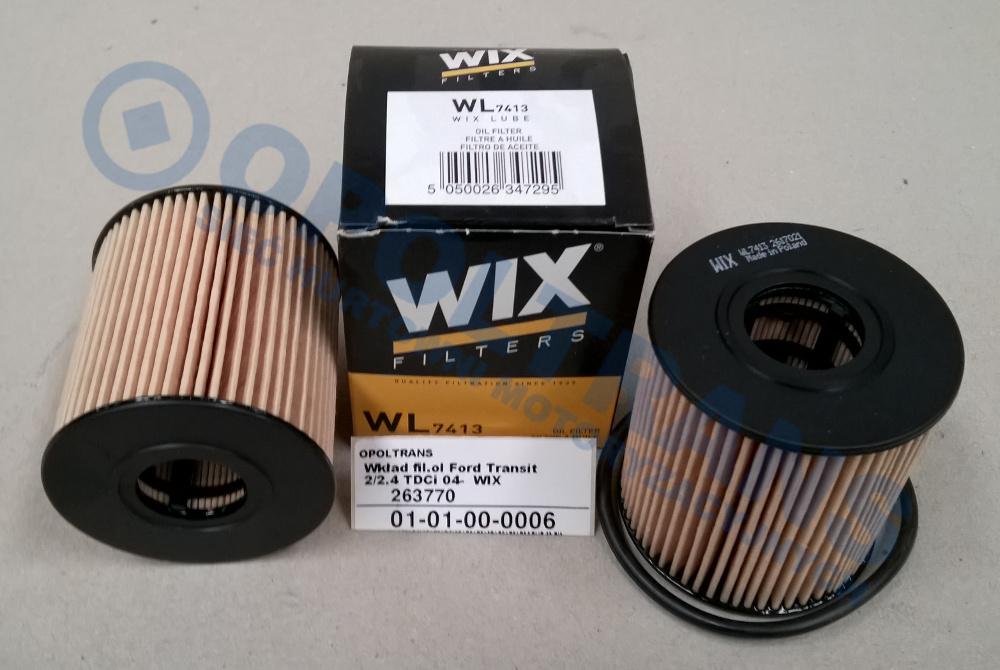 Wkład  fil.ol  Ford  Transit  2.2/2.4TDCi  06-14r  WIX
