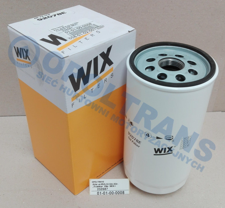 Filtr  ol.RVI,IV.E-Tech/Trak.Str.Trak.-06r-  WIX