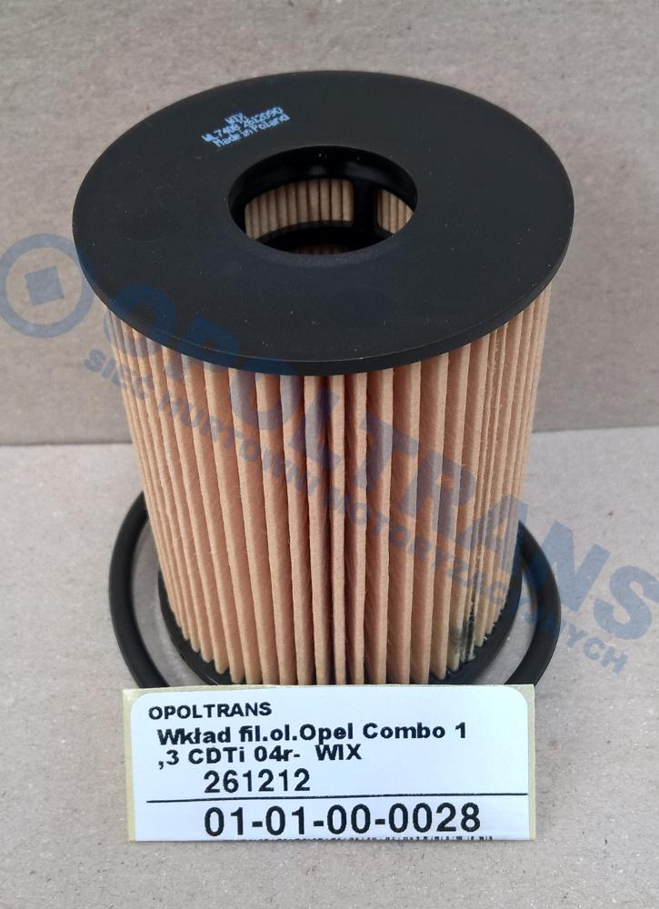 Wkład  fil.ol.Opel  Combo  1,3  CDTi  04r-    WIX