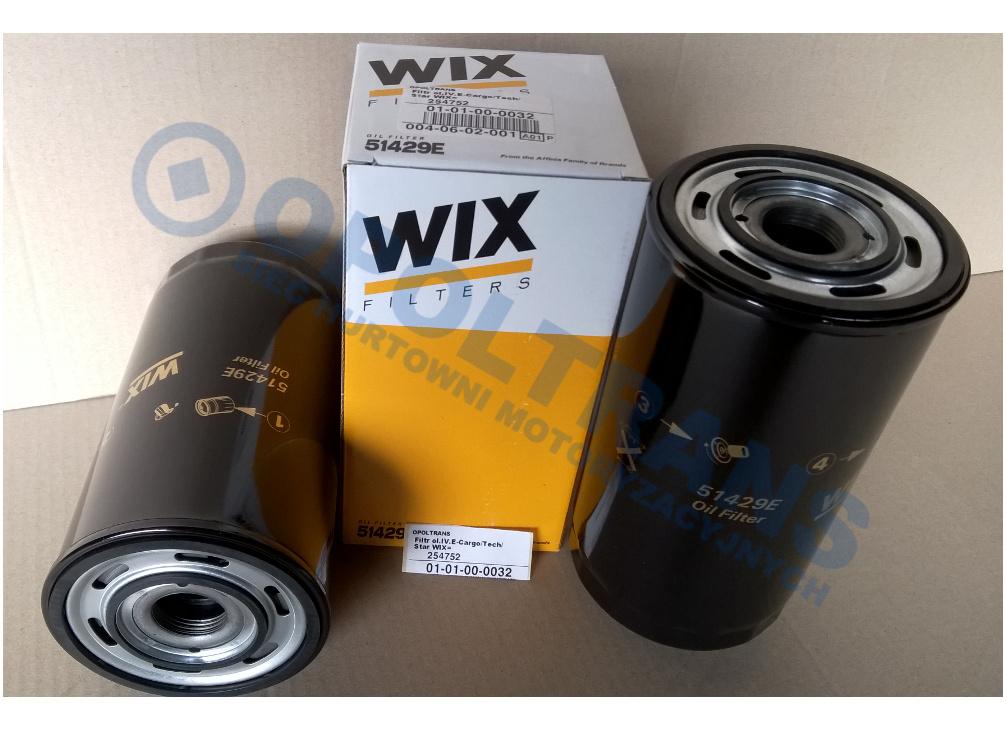 Filtr  ol.IV.E-Cargo/Star/Tech/Trakker  WIX