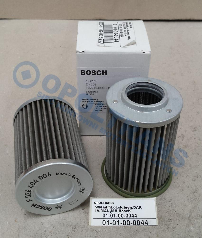 Wkład  fil.ol.sk.bieg.DAF  95XF,MAN  TGX,RVI  AE  Bosch