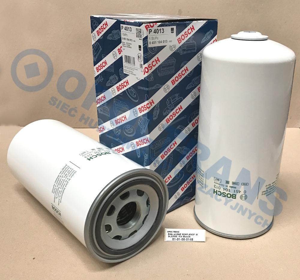 Filtr  ol.DAF  95XF,85CF  -02r,CF85  -13r  Bosch