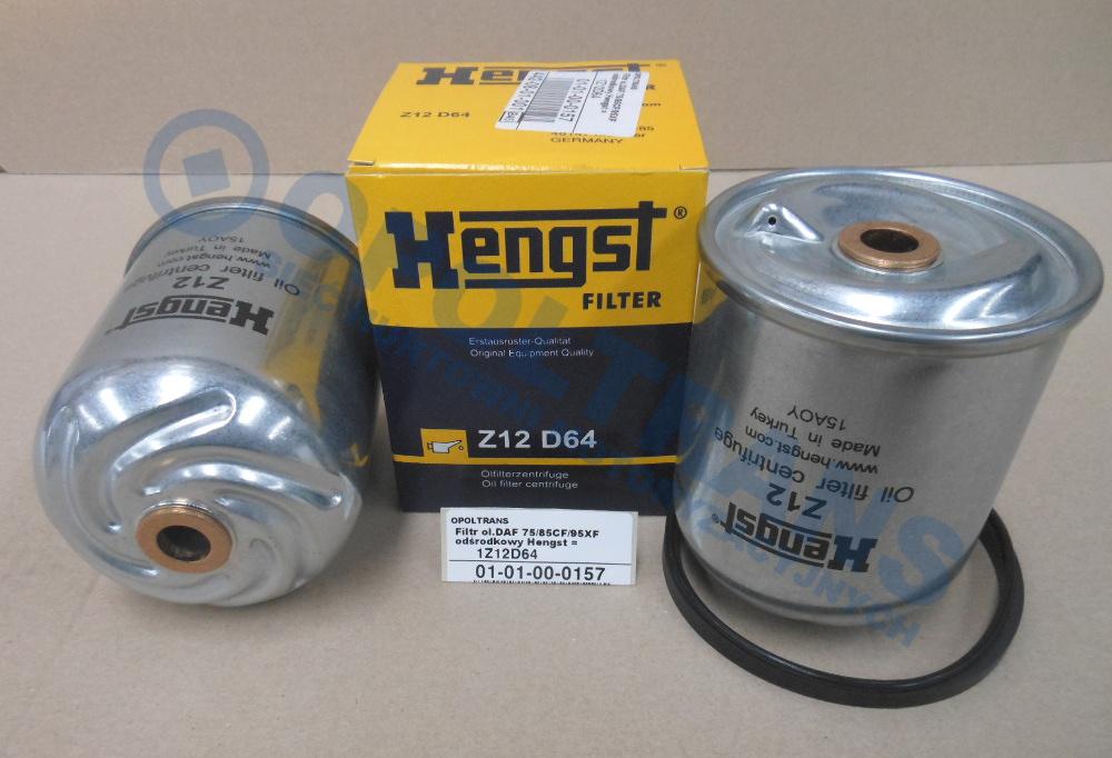 Filtr  ol.DAF  75/85CF75/85,95XF95  odśrodkowy  Hengst