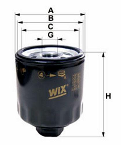 Filtr  ol.DAF  85-95  ATI  -98r  WIX=
