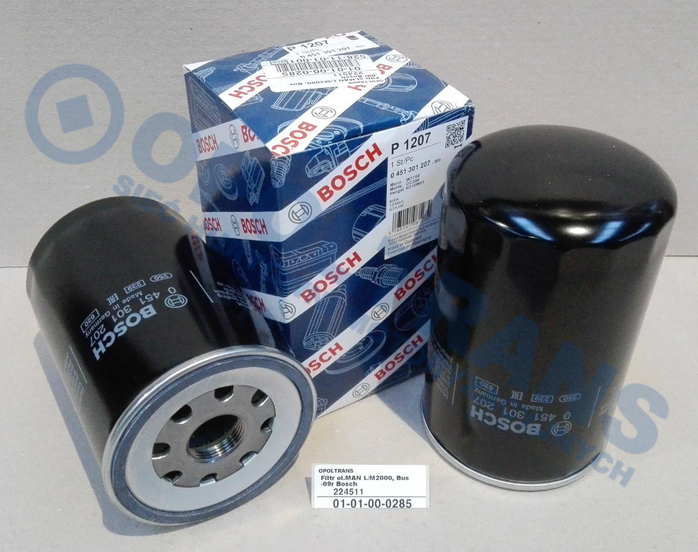 Filtr  ol.MAN  L/M2000,  Bus  -09r  Bosch