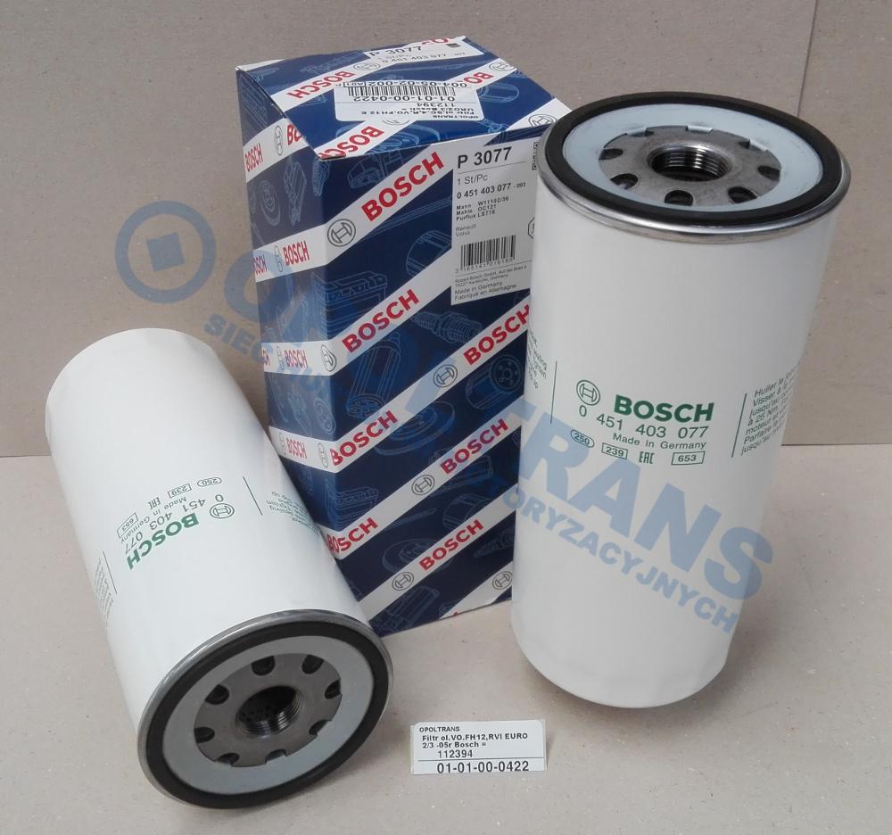 Filtr  ol.VO.FH12,RVI  EURO  2/3  -05r  Bosch