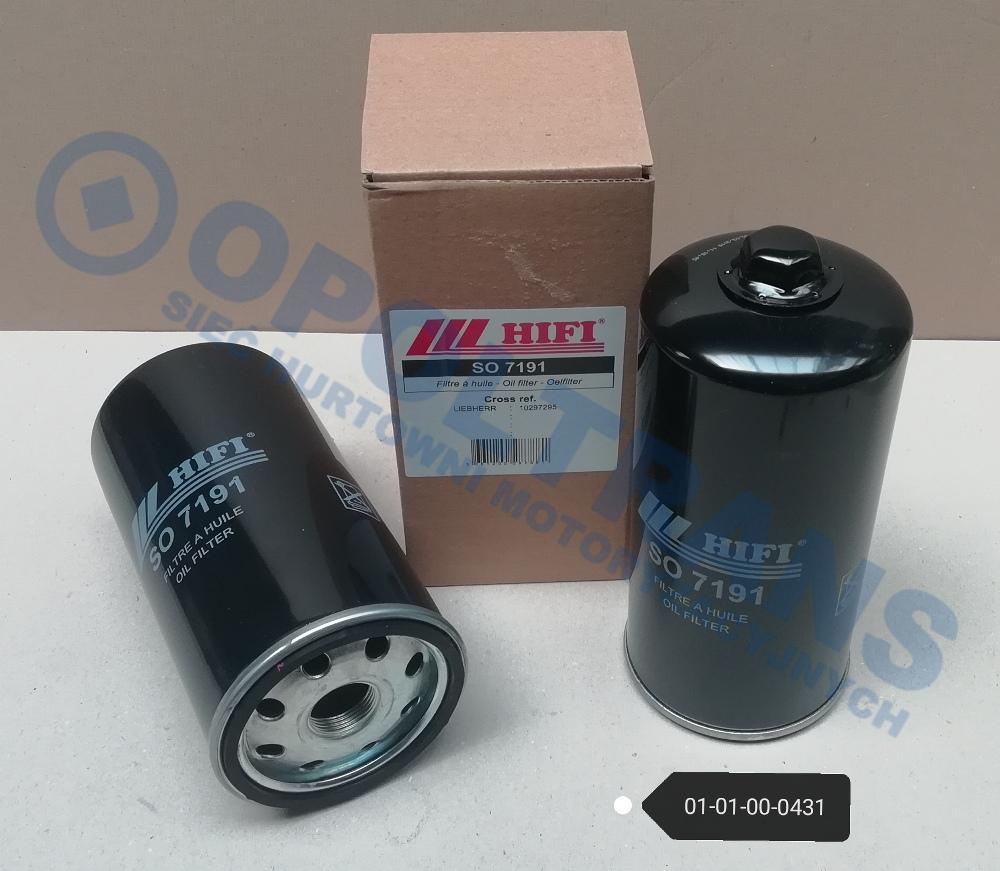 Filtr  ol.John  Deere,Liebherr  L500,LTM  HiFi-Filter