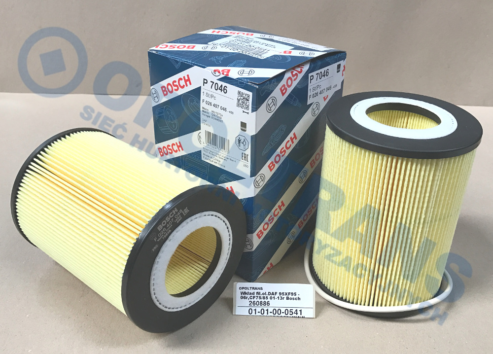 Wkład  fil.ol.DAF  95XF95  -06r,CF75/85  01-13r  Bosch