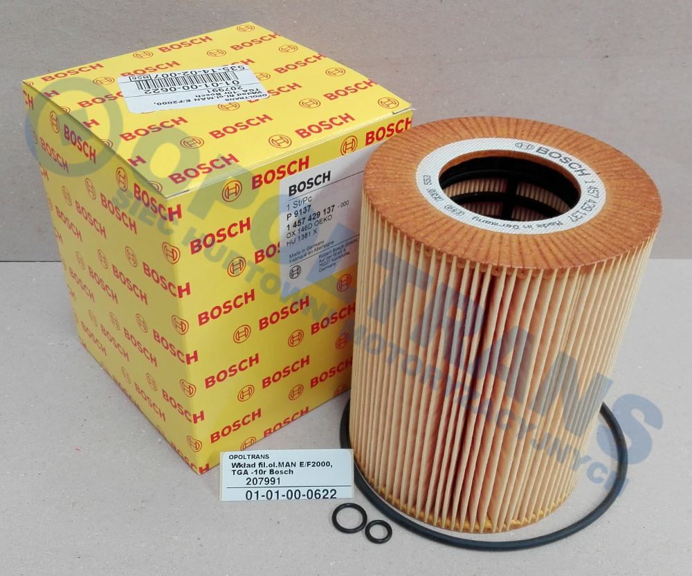 Wkład  fil.ol.MAN  E/F2000,TGA  -10r  Bosch