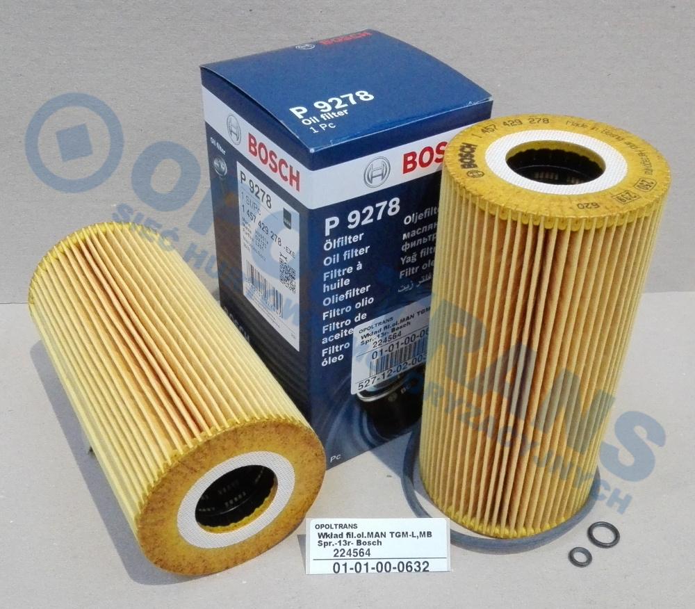 Wkład  fil.ol.MAN  TGM-L,MB  Spr.-13r-  Bosch