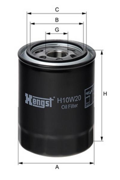 Filtr  ol.Hyundai  H350  15r-,H-1,iLoad  Hengst
