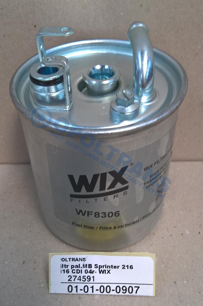 Filtr  pal.MB  Sprinter  216-616  CDI  04r-  WIX
