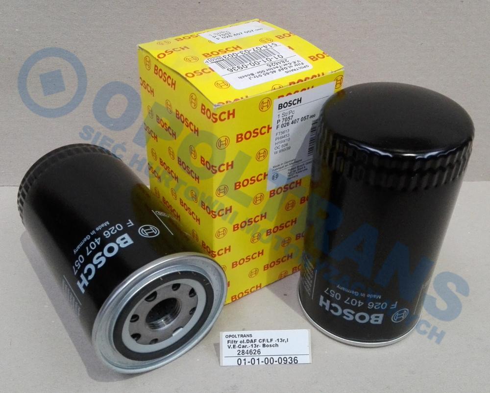 Filtr  ol.DAF  CF/LF  -13r,IV.E-Car.-13r-  Bosch