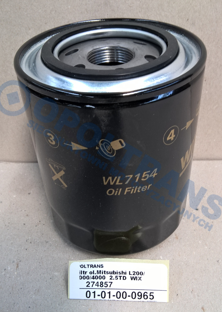 Filtr  ol.Mitsubishi  L200/3000/4000    2.5TD    WIX