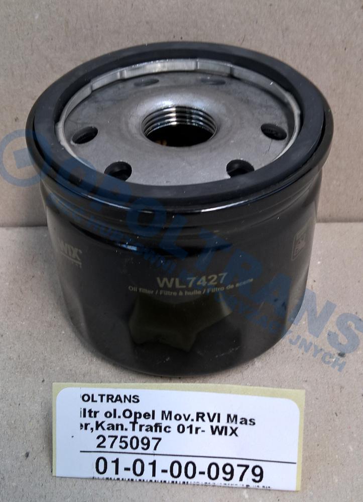 Filtr  ol.Opel  Mov.RVI  Master,Kan.Trafic  01r-  WIX