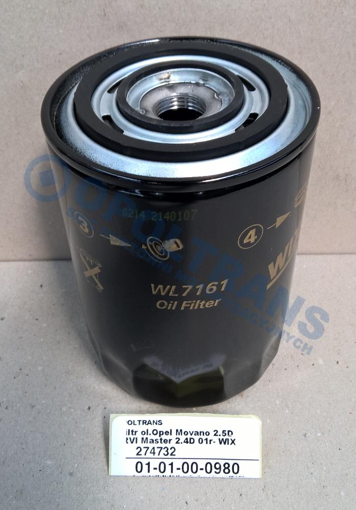 Filtr  ol.Opel  Movano  2.5D,RVI  Master  2.4D  01r-  WIX
