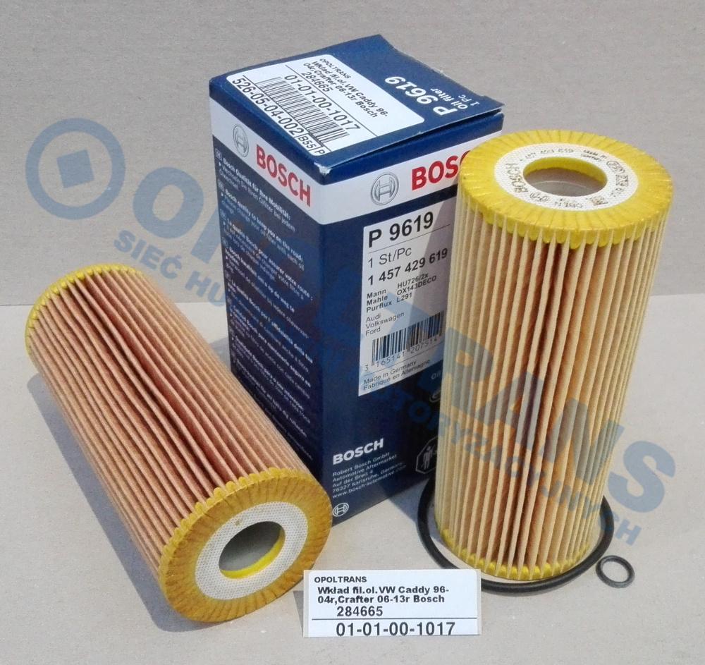 Wkład  fil.ol.VW  Caddy  96-04r,Crafter  06-13r  Bosch