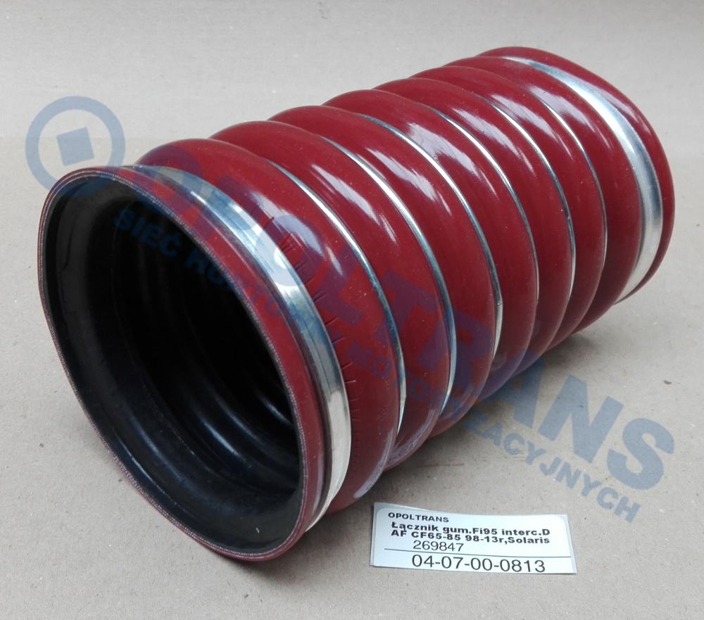 Łącznik  gum.Fi95  interc.DAF  CF65-85  98-13r,Solaris