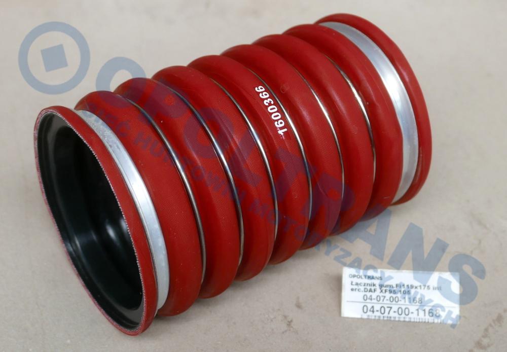 Łącznik  gum.Fi119x175  interc.DAF  XF105,  CF75/85