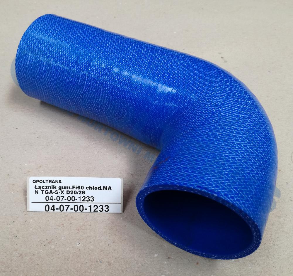 Łącznik  gum.Fi60  chłod.MAN  TGA-S-X  D20/26