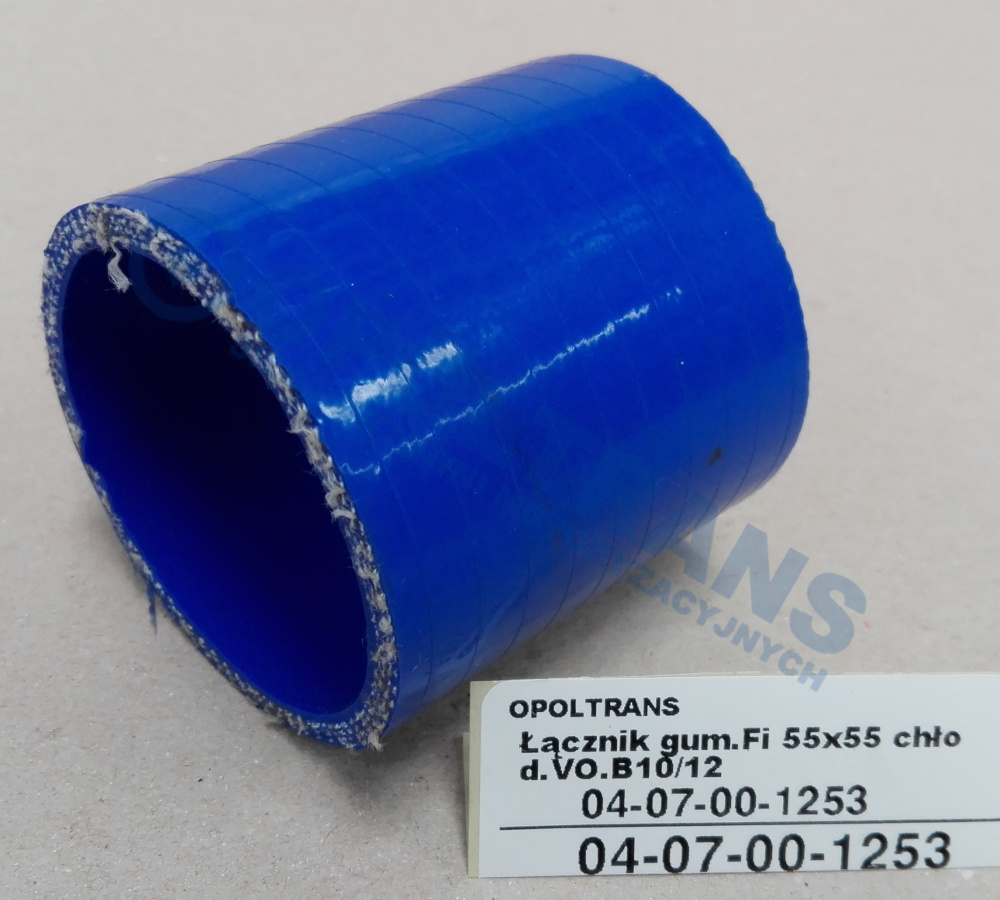 Łącznik  gum.Fi  55x55  chłod.VO.B10/12