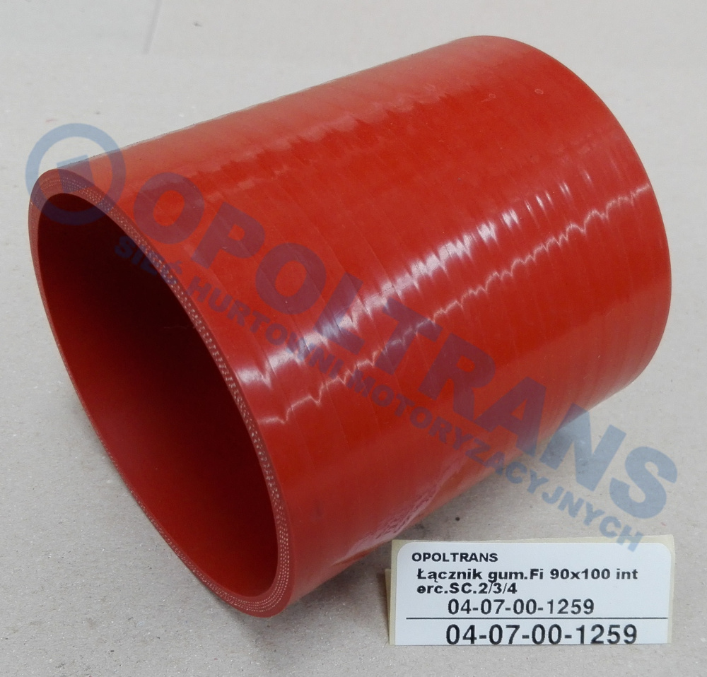 Łącznik  gum.Fi  90x100  interc.SC.2/3/4