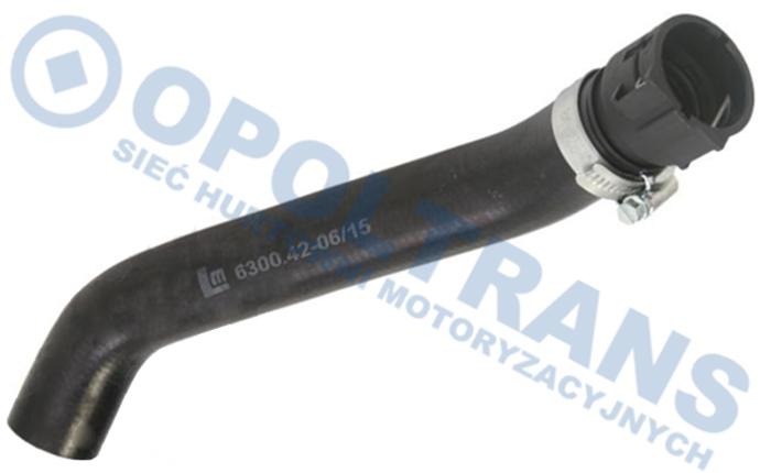 Łącznik  gum.Fi20xFi26  chłod.DAF  XF95/105