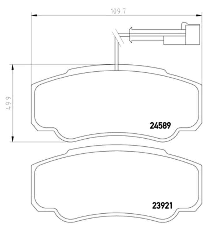 Klocki  23921  RVI  Maxity  07-  /T/  Fomar