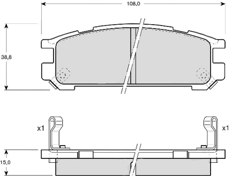 Klocki  21703  Sub.Impr.,Legacy  /T/  TRW